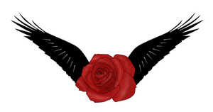 Wings on a Rose by VeXeDZERO