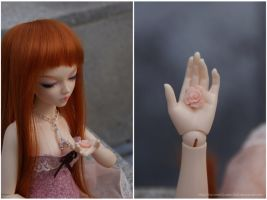Little, Pink and Beautiful by MySweetQueen-Dolls
