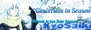 Forum Signature for KyoSaiko(ChristmasTheme Ver.3) by KiiitXD