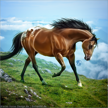 HEE Horse Avatar - Bostik by art-equine