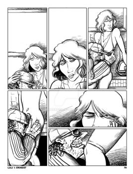 LULU Book 2 - Chapter 4 p. 79 Plain inks (pre-ltr) by JLRoberson