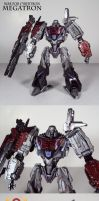 War for Cybertron Megatron by Unicron9