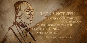 Martin Luther King Day January 2013 by greeni-studio