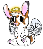 Chibi commission for Am3h by RegallyFlawed