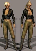 Kassy Jaster-a test-3-4 by Roguewing