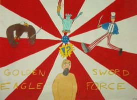 Golden Eagle Sword Force by AgentIrons