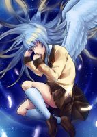 Angel Beats by Neverominin