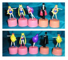 Bottle Toppers by StariaChiba