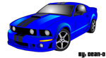 Ford Mustang by thepinkechidna