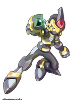Model X - Shadow Armor by ultimatemaverickx