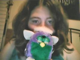 Me and my Baby furby! ^_^ by kaitlynb7