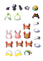 FREE TO USE || HATS 2 by Fluffycloudkit
