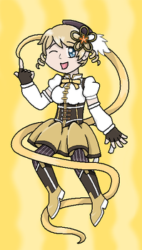Ukraine as Mami Tomoe by darkfrost-star