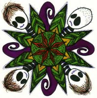 Moody Nightmare 3rd Mandala by Quaddles-Roost