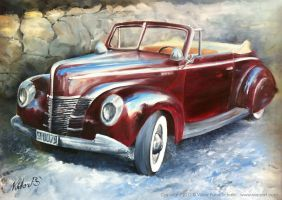 Classic Car by VEPSART
