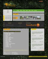 Street Soccer Web Design by treconor