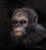 War for the Planet of the Apes- Villain Concept by browniedjhs