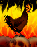 Infernal Chicken by TriF-Sith