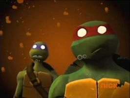 TMNT 2012 : LASERS! by MarionetteJ2X