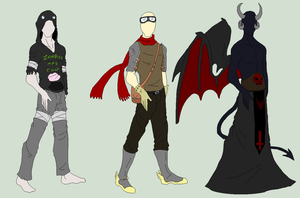 Male Outfit Adopts 4 - OPEN by ShadowInkAdopts