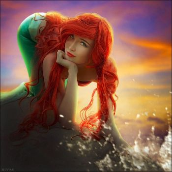 The little mermaid by iluviar by Usagi-Tsukino-krv