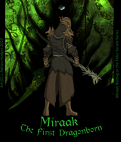 Miraak: the first Dragonborn by JH03L