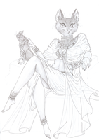 Cat Mistress by SoleiBee