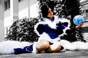 League of Legends - Midnight Ahri Cosplay by pure-faces