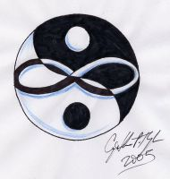 Yin Yang Infinity by lilmoongodess