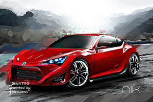 Scion FR-S by nicollearl