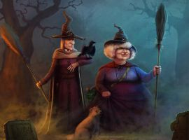Discworld witches by valpos