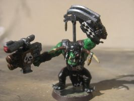Warhammer 40000 Ork Boyz #1 -Miniature painting by SelloCreations