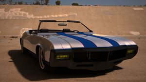 Buick Riviera 1969 Convertible Front View by bacarlitos