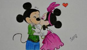 Mickey e Minnie - Desenho Animado / Cartoon by Tex-And-Tathy