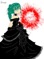 Black Vow Miku by BlackDiamond13
