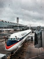 Delta at Reagan Airport by cheyrek