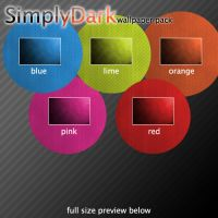 SimplyDark wallpaper pack by wojtekww
