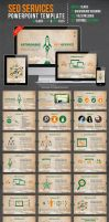 SEO Services Powerpoint Template by kh2838