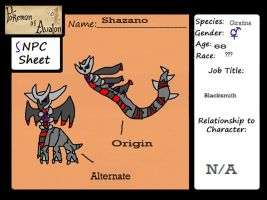 Shazano the Giratina by DragonTypeSnivy