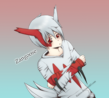 Zangoose by Kaizcu