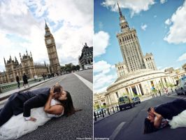 Warsaw - London by PhotoYoung