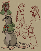 Delius Sketches by geckoZen