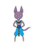 Lord Beerus by Pandaramaa