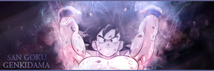 Sign' San Goku by TenshiGraph