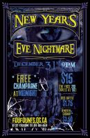 New Year's Eve Poster by HammerSection
