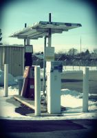 gas station by kimmyjune