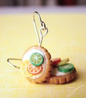 Citrus Earrings by xcalixax