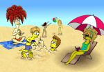 A Day at the Beach by Nevuela