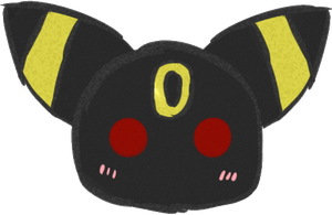 :Pagedoll: Umbreon by ExGamerChan