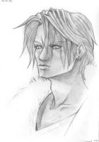 Squall, FFVIII by thecrab
